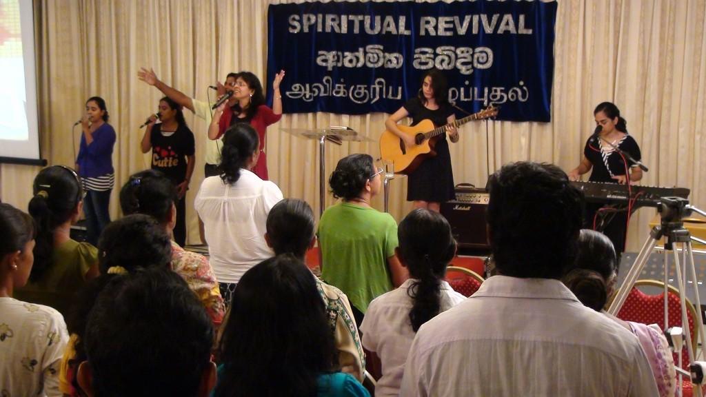 Spiritual Revival, June 2014 - Kurunegala, Sri Lanka