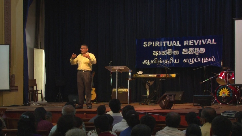 Spiritual Revival, March 2015 - Kandy, Sri Lanka