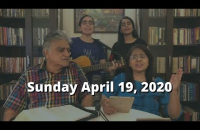Sunday English Service - April 19, 2020