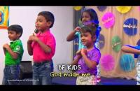 God made me | BF KIDS | Action Bible Songs